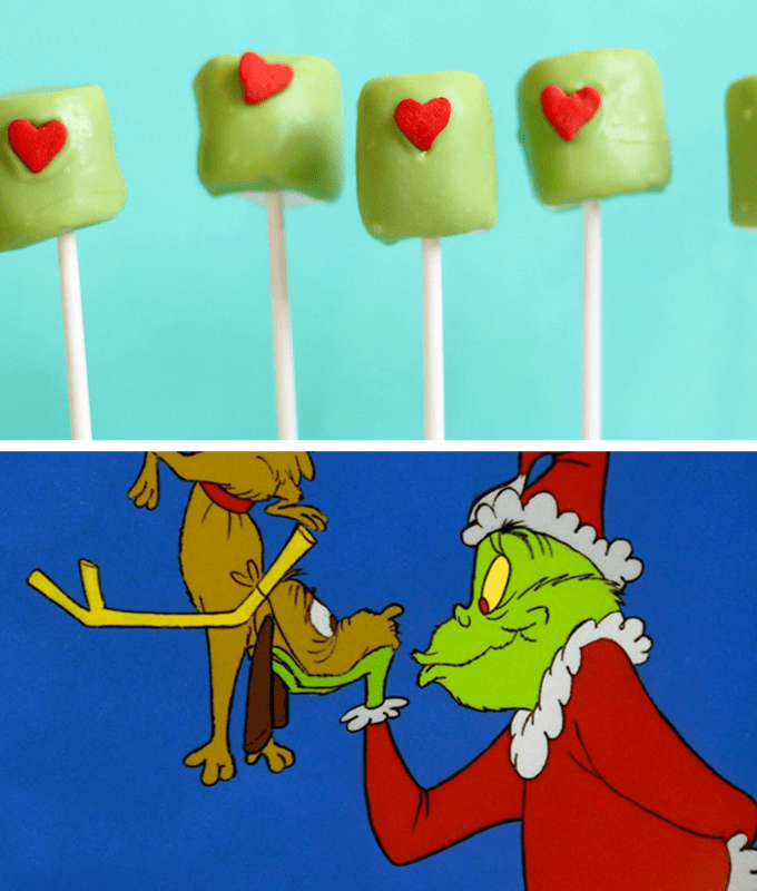 Christmas movies and TV shows fun food pairings -- The Grinch