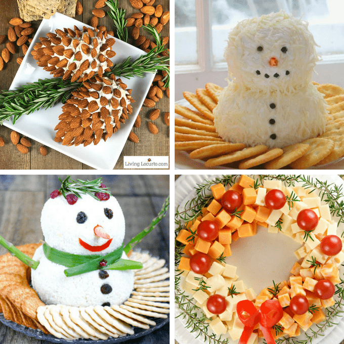 A roundup of 20 creative Christmas appetizers -- fun food for your holiday party