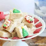 gingerbread boozy fudge