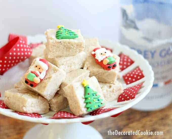 Gingerbread boozy fudge for homemade Christmas gifts or for a holiday treat -- filled with vodka, strong, grown-ups only. Video how-tos.