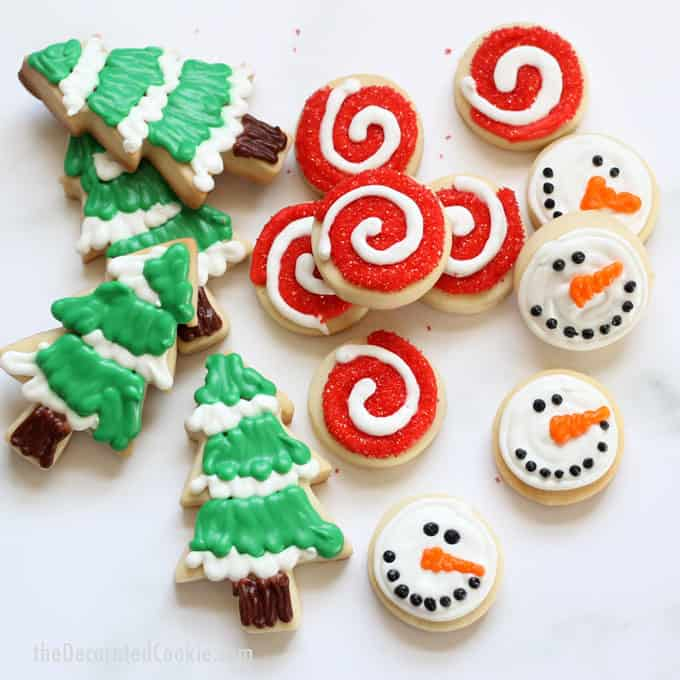 Make decorated Christmas cookies with these no-fail recipes for cut-out cookie dough