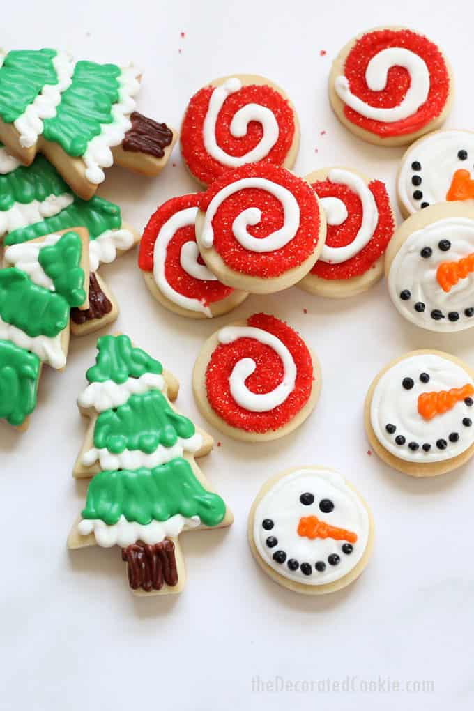Decorating Christmas Cookies.Decorated Christmas Cookies No Fail Cut Out Cookie And