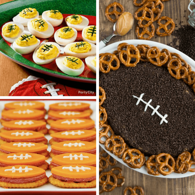 Football Food Ideas 25 Fun Football Foods To Serve At Your Super Bowl Party