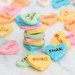 homemade conversation hearts candy