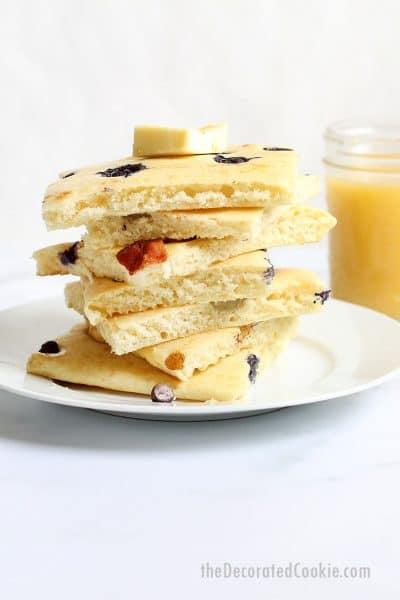 sheet pan pancakes for breakfast