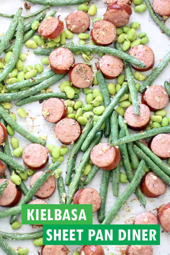 keilbasa sheet pan dinner