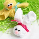 wash cloth bunny and chick