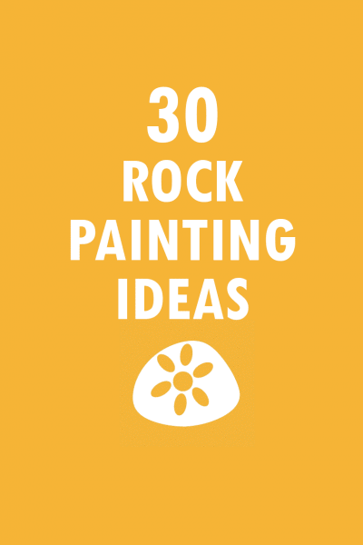 30 rock painting ideas