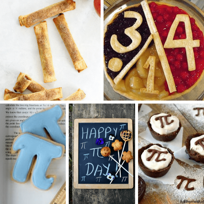 A roundup of Pi Day desserts and fun food ideas.