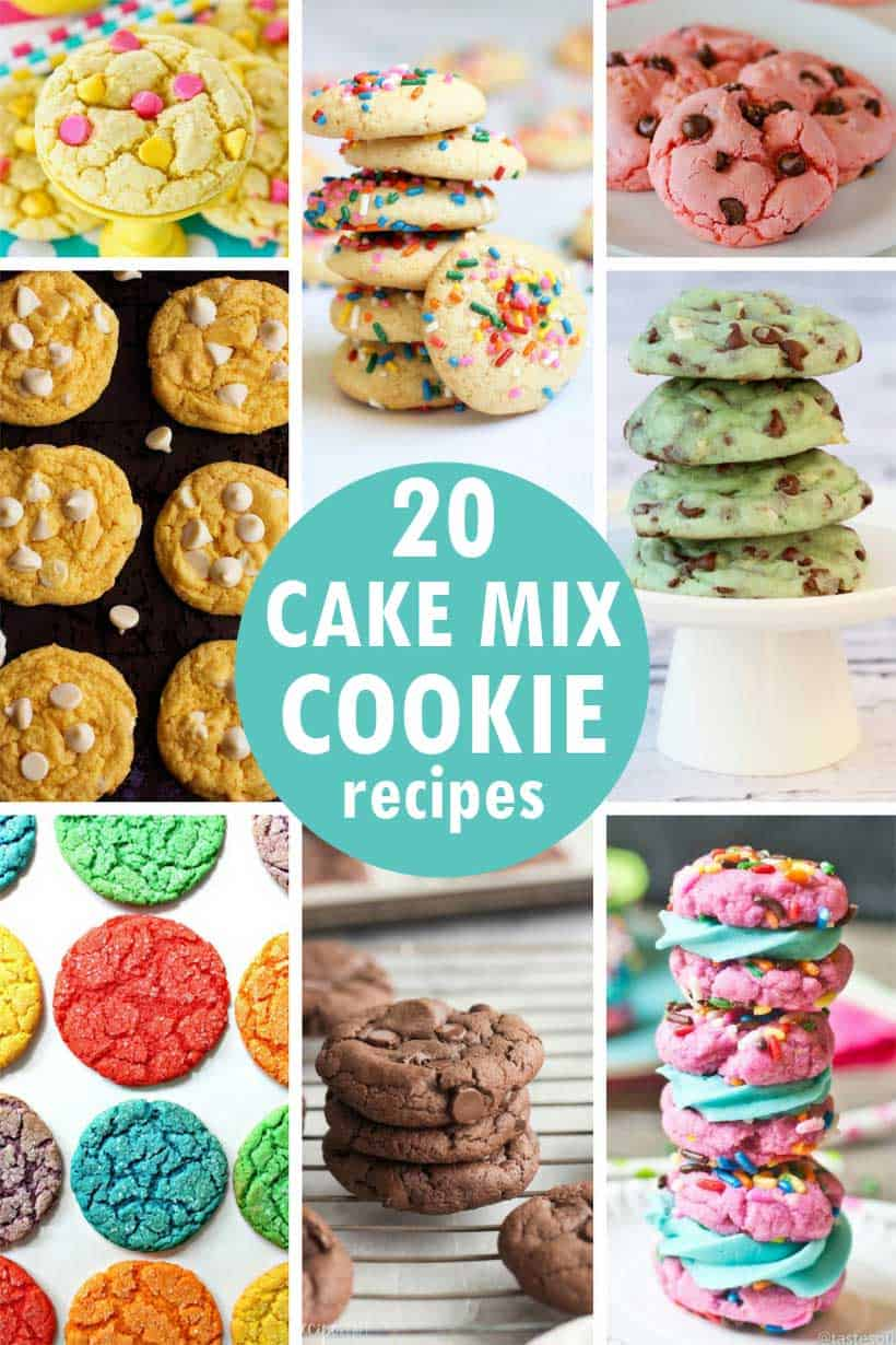 cake mix cookie recipes