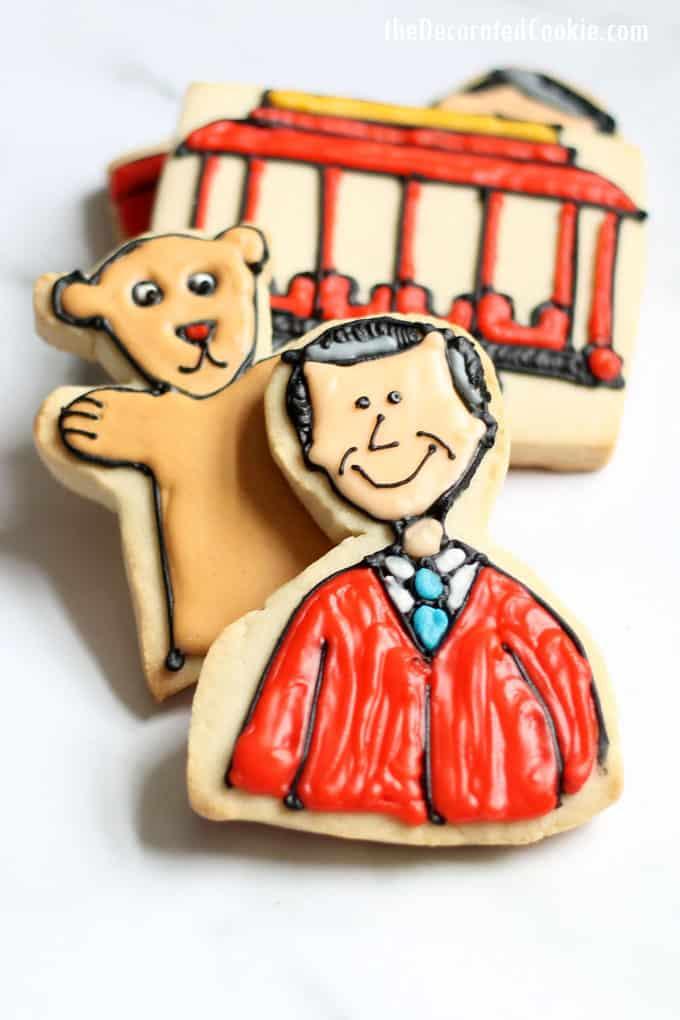 Cookie Decorating Idea Mr Rogers Neighborhood Cookies With Video