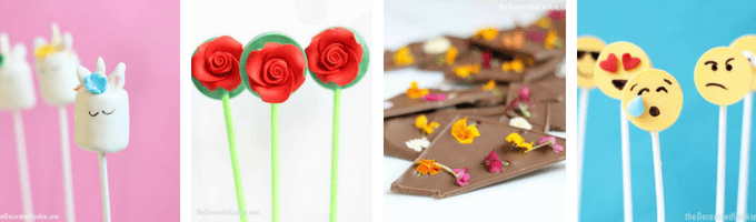 How to work with chocolate and candy melts.