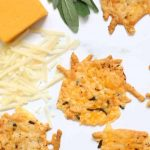 Parmesan crisps with herbs