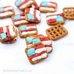4th of July pretzels