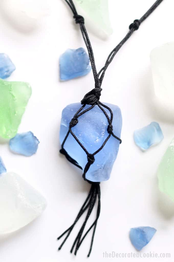 sea glass jewelry - How To Make Sea Glass