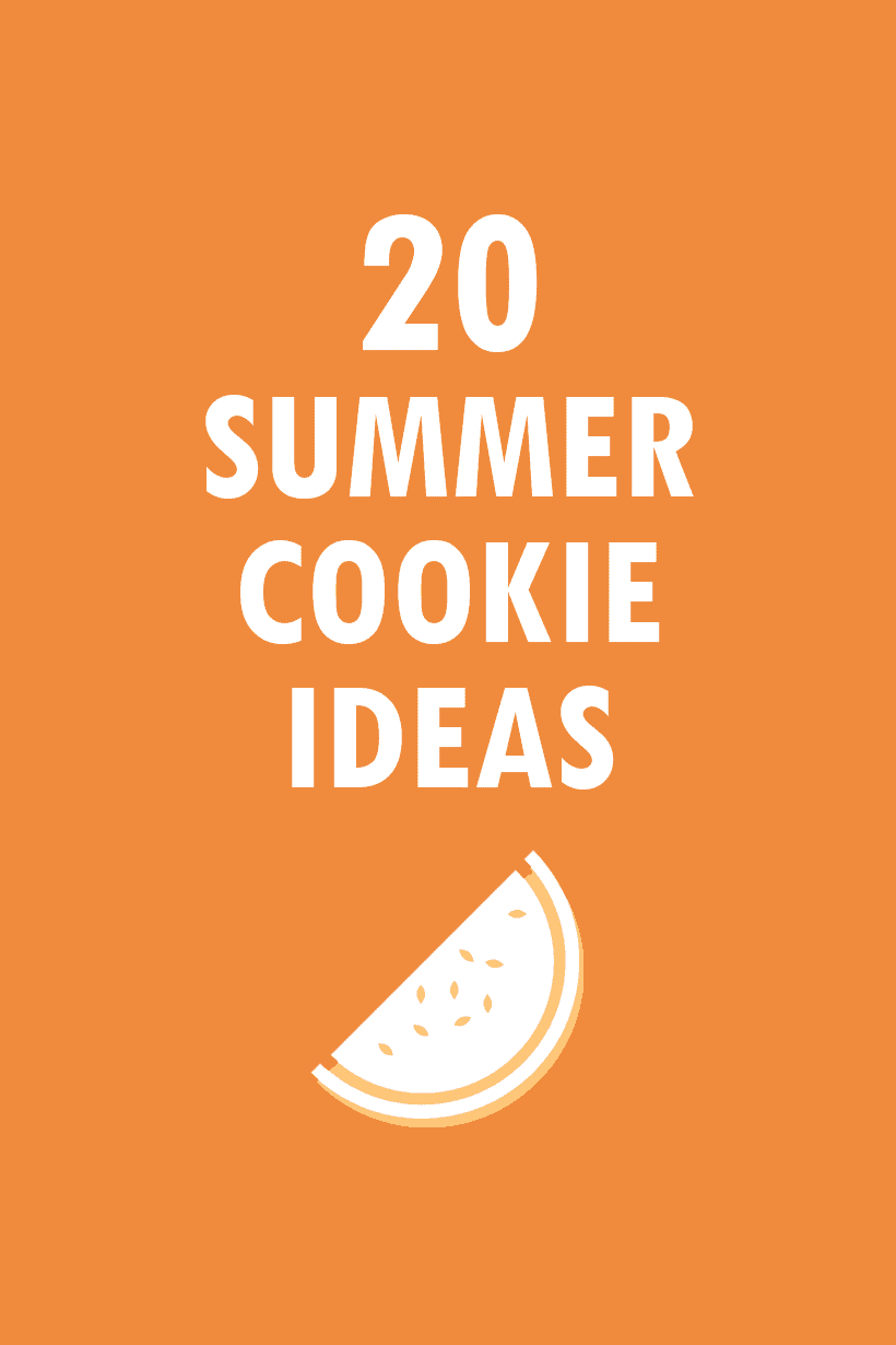 20 summer cookies ideas