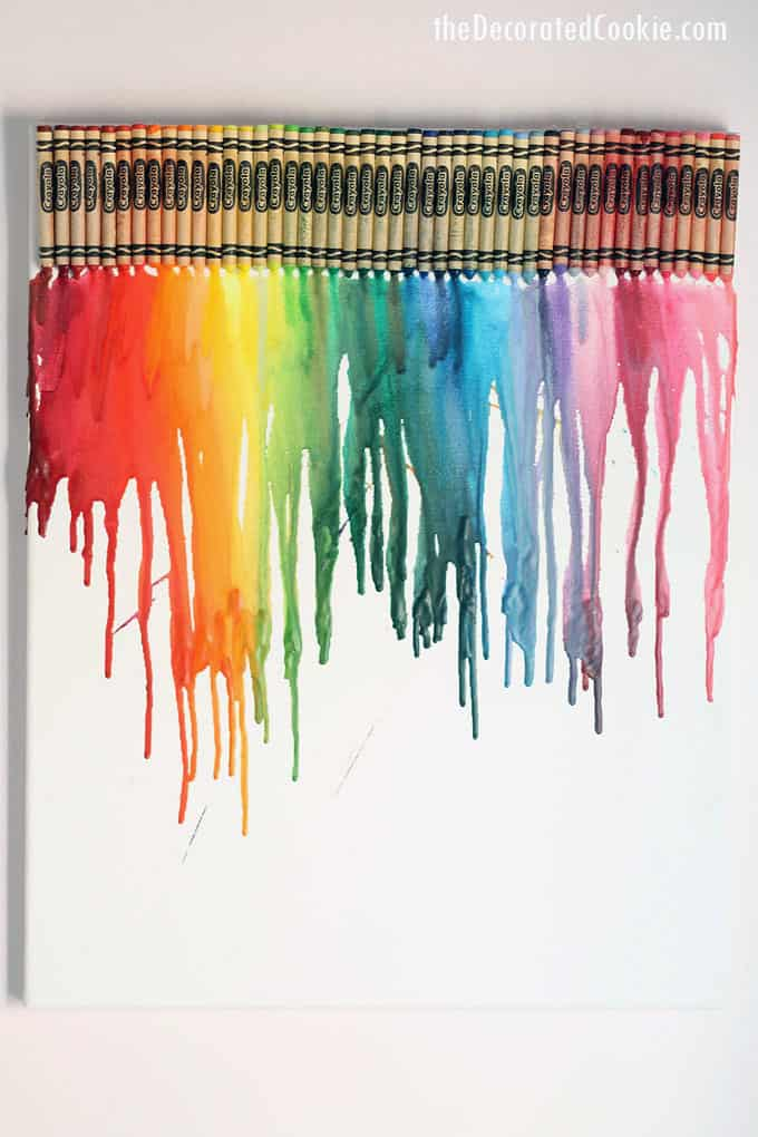 crayon art  crayon crafts and melted crayon art for kids