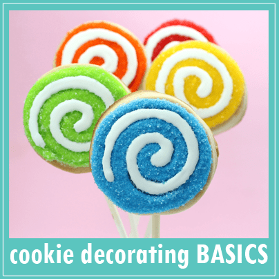 cookie decorating 101: How to decorate cookies.