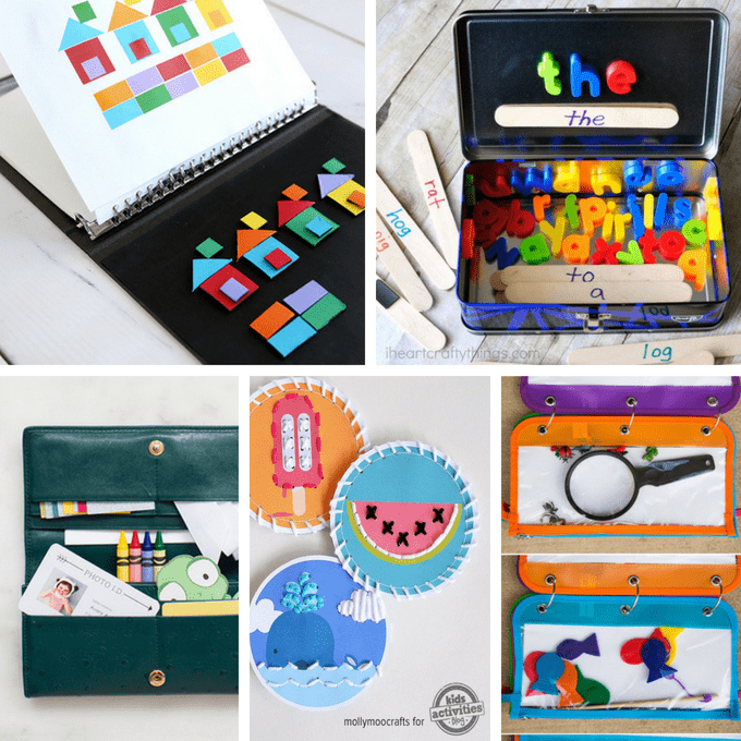 25 Awesome Diy Road Trip Games And Travel Kits For Kids The