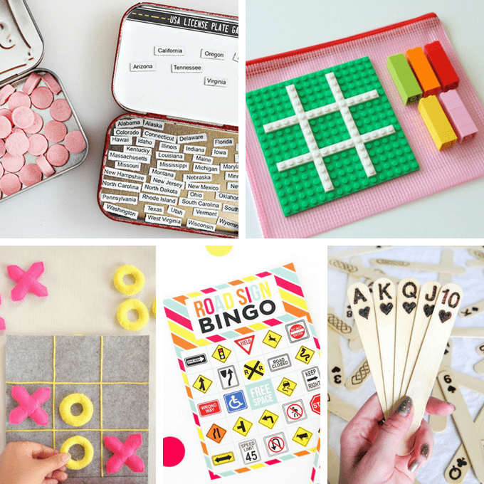 25 Awesome DIY Road Trip Games And Travel Kits For Kids