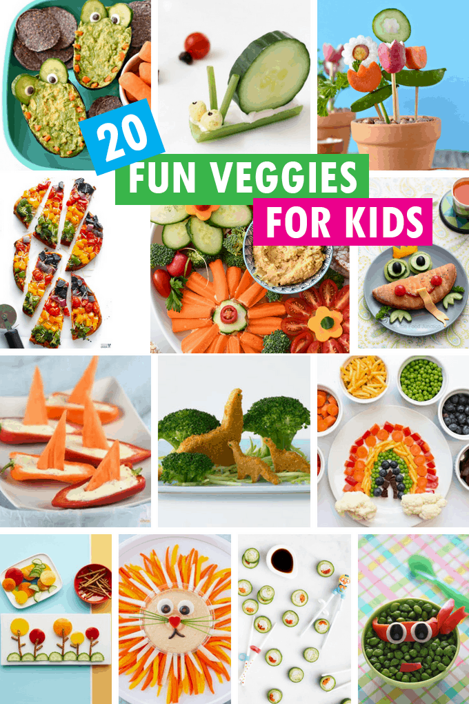 FUN vegetable ideas for kids
