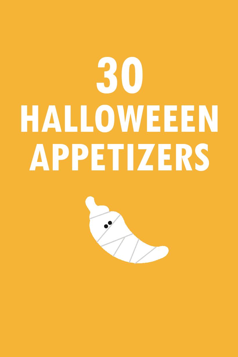 30 Halloween appetizers