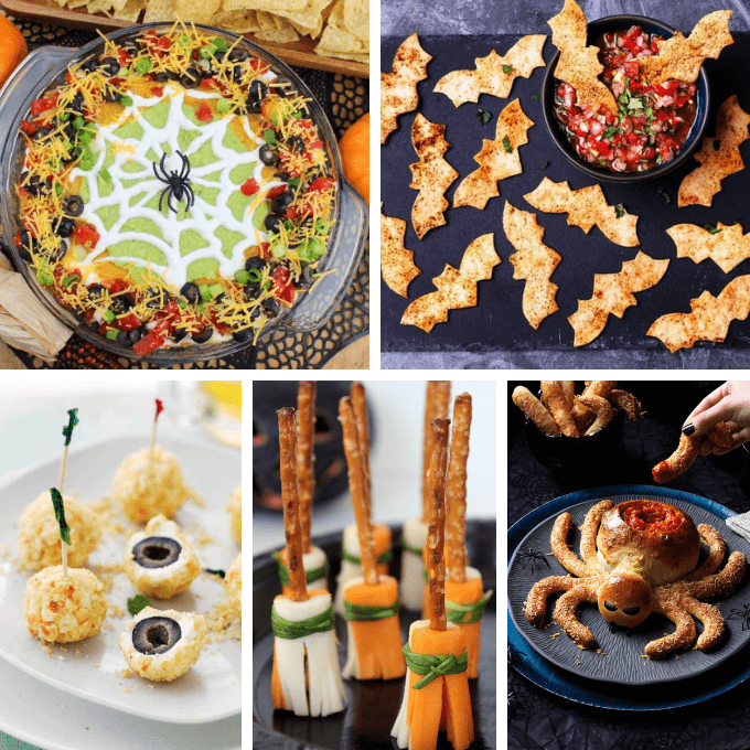 30 Halloween Appetizers And Snacks Fun Halloween Party Food
