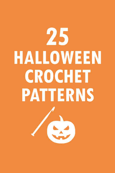 25 free crochet patterns for Halloween