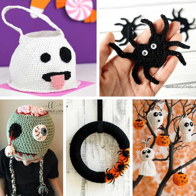 Crochet Halloween Amigurumi Free Patterns Instructions | 680x680