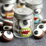eyeball cookies for Halloween