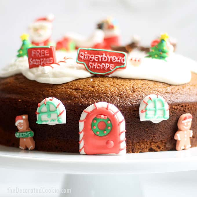 Christmas Desert Ideas.Gingerbread Bundt Cake