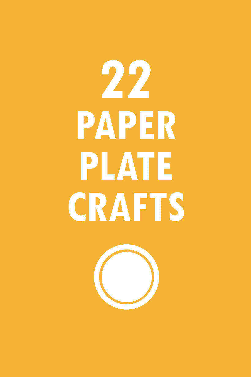 22 paper plate crafts