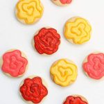 easy rose cookies