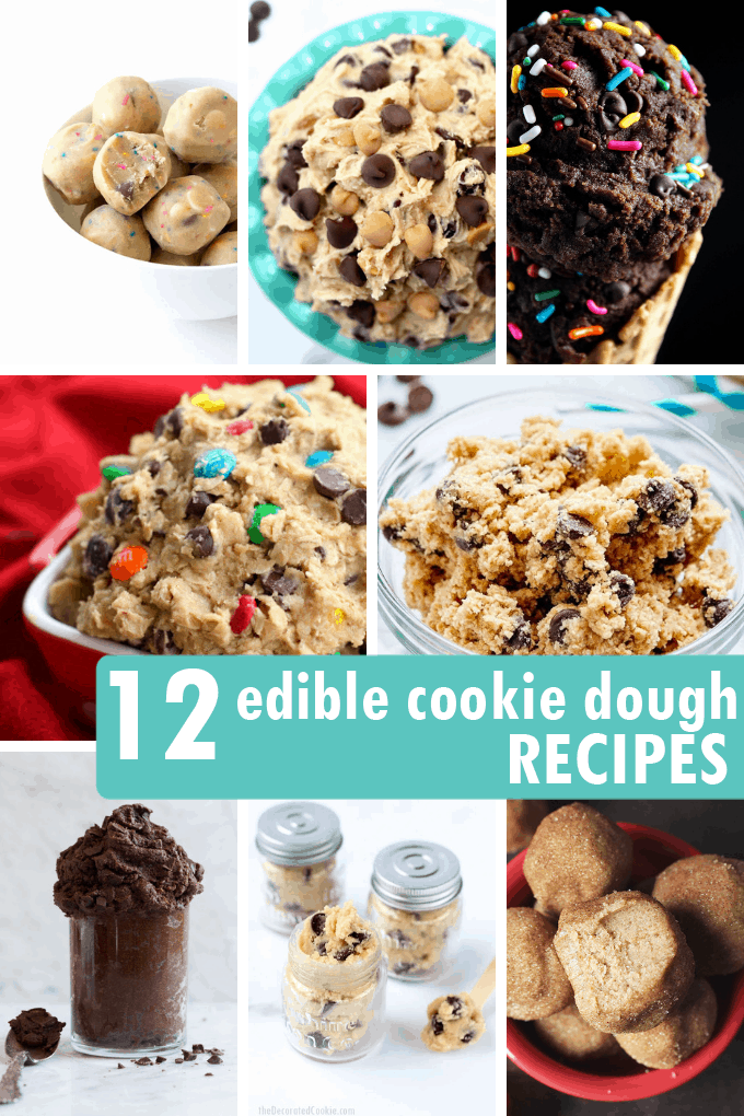 12 Edible Cookie Dough Recipes A Roundup