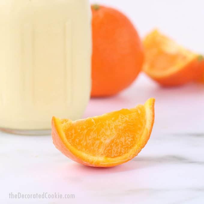 This healthy COPYCAT ORANGE JULIUS RECIPE tastes even better than the original shopping mall favorite. Combine orange, milk, and vanilla. Video.