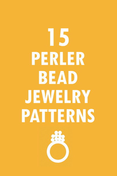 15 jewelry perler bead patterns