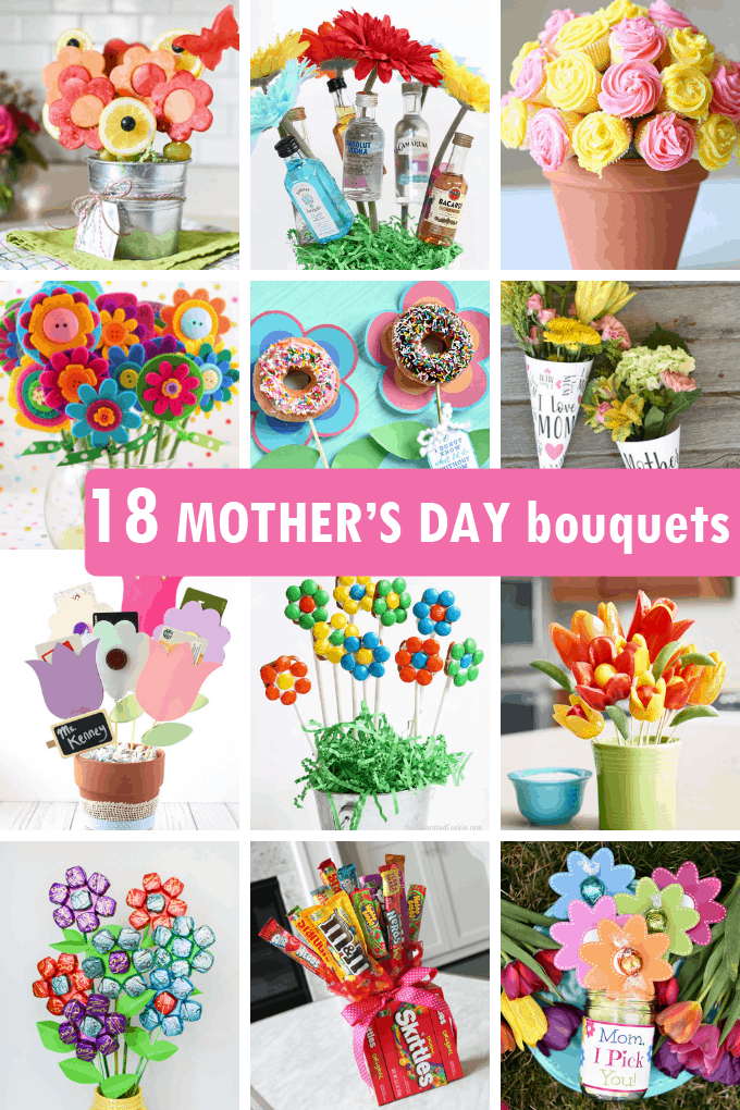 18 Diy Mother S Day Bouquets Unique Handmade Gift Ideas