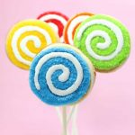 THE BEST CUT-OUT SUGAR COOKIE RECIPE for cookie decorating. No-spread, easy, perfect every time. Make your own sprinkle lollipop cookie pops.