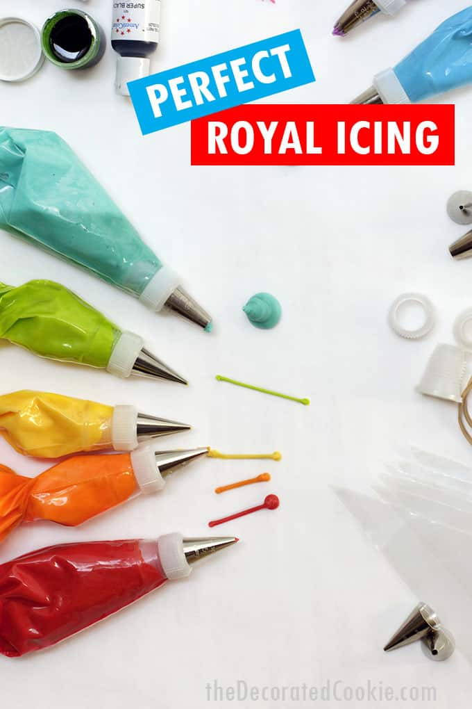 bags of royal icing