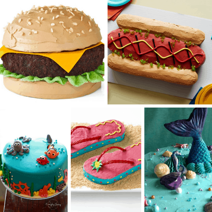 fun cakes for summer
