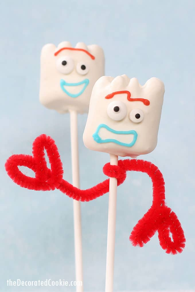 Forky Toy Story Marshmallows