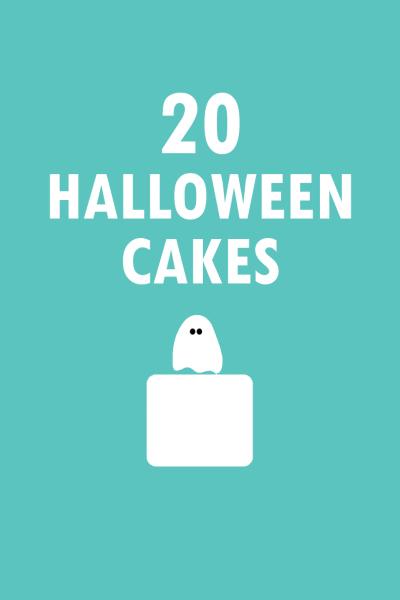 20 Halloween cakes