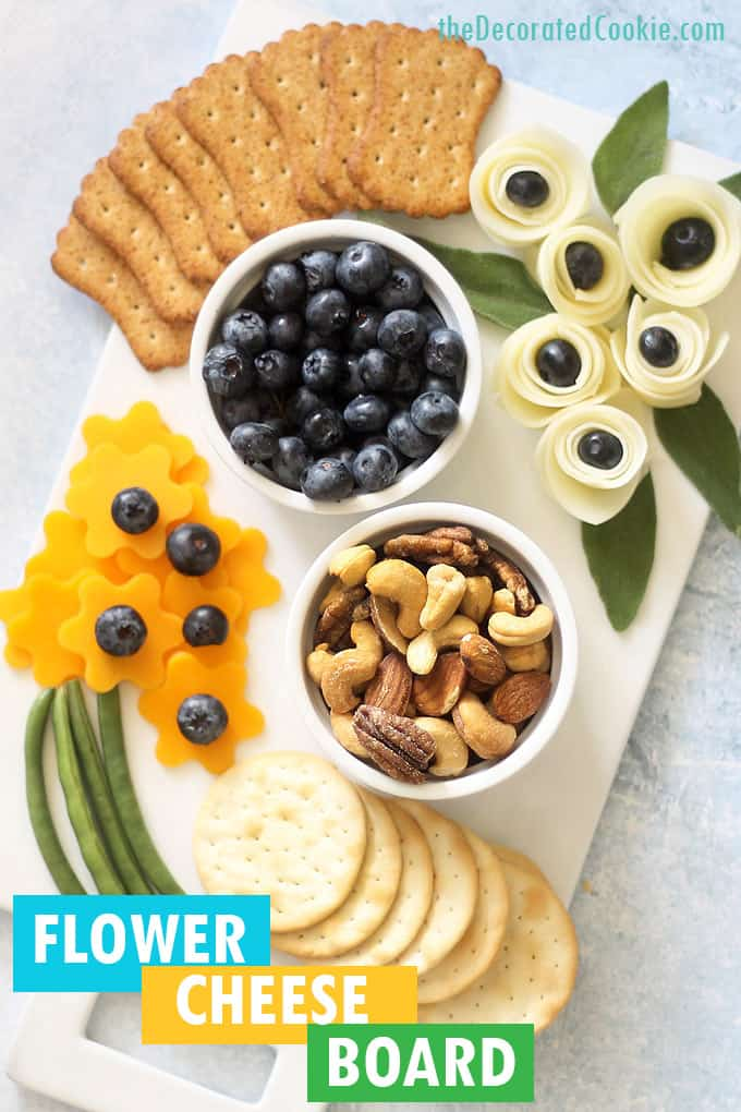 flower cheese board