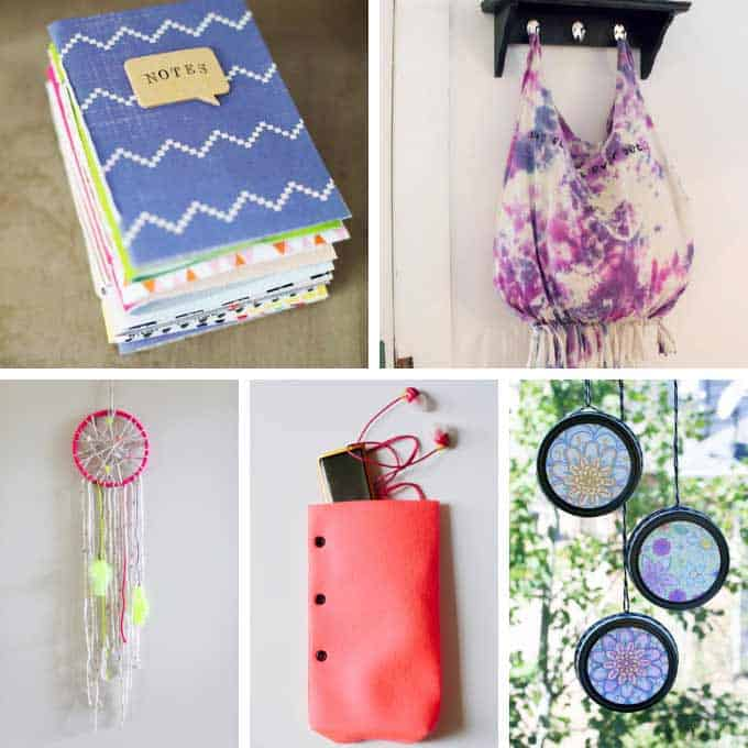 25 awesome CRAFTS FOR TEENS AND TWEENS. Tutorials for crafts to make for fun, to give, or even for kids to sell. Great boredom busters!