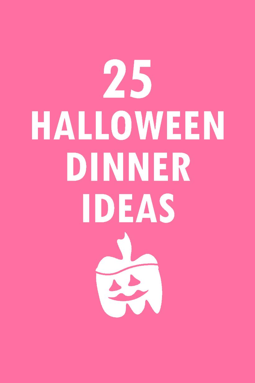25 Halloween dinner ideas