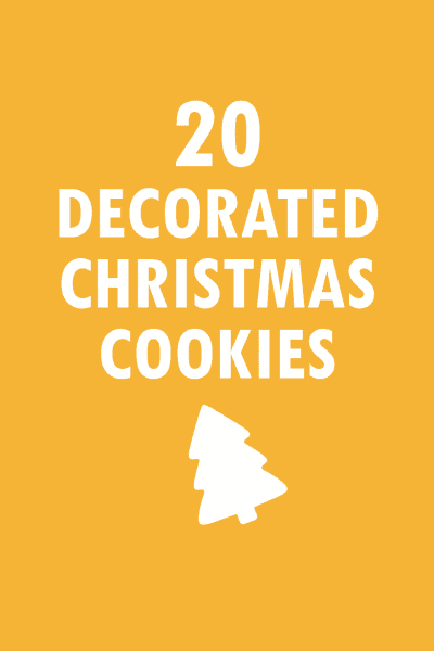 20 Christmas cookie decorating ideas