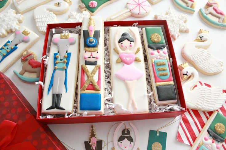 Nutcracker Decorated Cookies