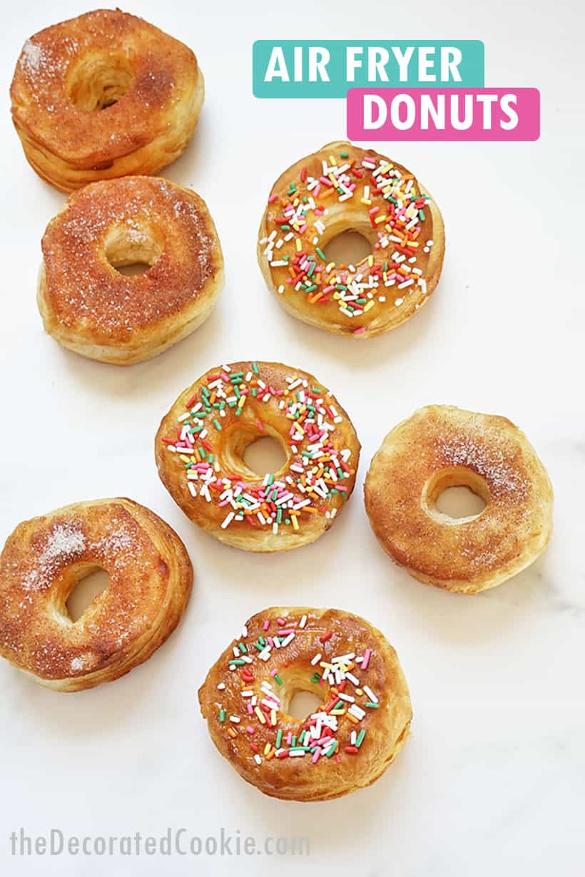 air fryer donuts from refrigerated biscuit dough