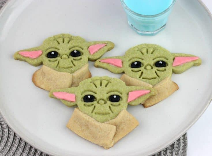 The Mandalorian Baby Yoda Cookies