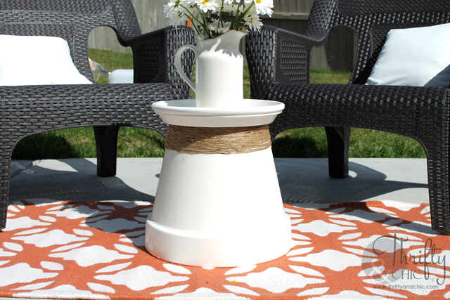 Terracotta Accent Table